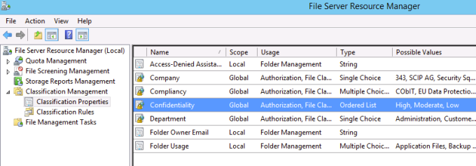 FCI Management GUI