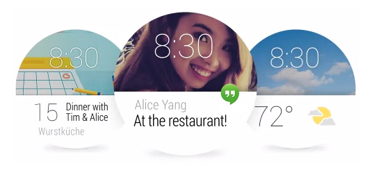 Die Notification Cards auf Android Wear