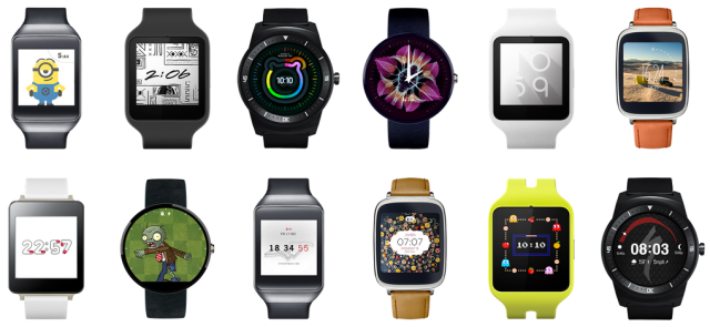 Android Wear Uhren