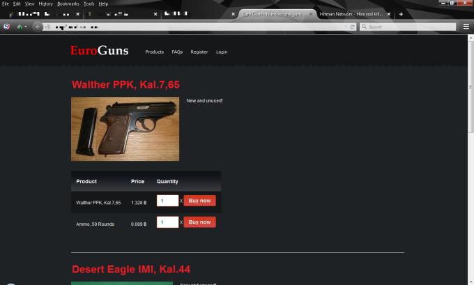 Der bekannte Waffenmarkt EuroGuns