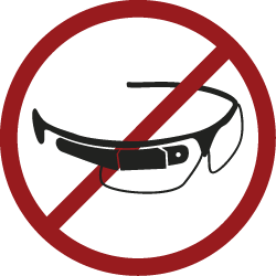 Certain establishments have banned Google Glass for security reasons.