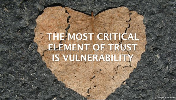 Vulnerability is the heart of all trust theories