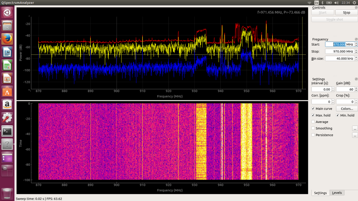 HackRF One Sweep Mode - A quick Introduction